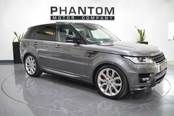 2014 LAND ROVER RANGE ROVER SPORT 4.4 AUTOBIOGRAPHY DYNAMIC 5d AUTO 339 BHP £44990.00