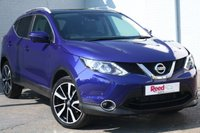 USED 2017 17 NISSAN QASHQAI 1.2 TEKNA DIG-T 5d 113 BHP DAB+LEATHER+NAV+CRUISE