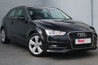 USED 2014 14 AUDI A3 1.2 TFSI SPORT 3d 104 BHP PEARL PAINT + PHANTOM BLACK