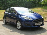 USED 2015 15 FORD FIESTA 1.6 TITANIUM X TDCI 5d 94 BHP Heated Seats, Reverse Camera & More!