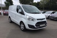 2017 FORD TRANSIT CUSTOM 290 SWB Low roof van £11850.00