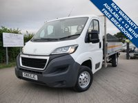 USED 2015 15 PEUGEOT BOXER 2.2 HDI 335 L3 C/C 1d 130 BHP Dropside Pick Up  ONE KEEPER, DROPSIDE, 2 KEYS