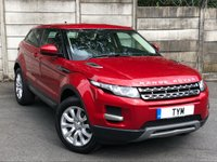 USED 2015 65 LAND ROVER RANGE ROVER EVOQUE 2.2 SD4 PURE TECH 3d AUTO 190 BHP 1 OWNER FROM NEW/SAT NAV/LEATHER