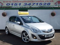 USED 2011 61 VAUXHALL CORSA 1.4 SRI 5d 98 BHP 1.4 SRI INCLUDE EXTERIOR PACK, FULL HISTORY