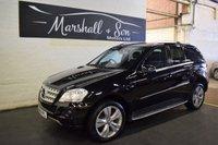 2010 MERCEDES-BENZ M CLASS 3.0 ML300 CDI BLUEEFFICIENCY SPORT 5d AUTO 204 BHP £12399.00