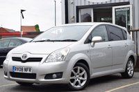 USED 2008 08 TOYOTA COROLLA 2.2 VERSO SR D-4D 5d 135 BHP GREAT SERVICE HISTORY, FANTASTIC CONDITION