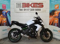 USED 2015 15 KAWASAKI ER-6N ( ER 650 EFF) 650CC, ONE OWNER FROM NEW