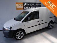 USED 2011 11 VOLKSWAGEN CADDY 1.6 C20 TDI 102 5d 101 BHP ; GLEAMING WHITE VW CADDY A REAL EXAMPLE OF A STUNNING AND VERY WELL LOOKED AFTER VAN WHICH HAS BEEN SOUND PROOFED AND CARPETED IN THE REAR, UPGRADED ALLOYS, HIGH SECURITY LOCKS, RADIO, COMES WITH 12 MONTHS MOT AND JUST BEEN SERVICED