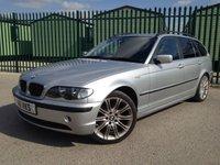 2004 BMW 3 SERIES 2.2 320I SE TOURING 5d 168 BHP LEATHER ALLOYS MOT 12/18 £1290.00