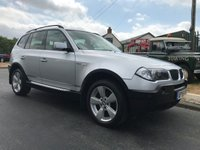 2006 BMW X3 2.0 D SPORT 4x4 very clean car lots money spent by ourselves  £3795.00