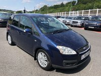 USED 2006 06 FORD C-MAX 2.0 C-MAX GHIA 5d 136 BHP Black leather heated seats, A/C, recent service & clutch
