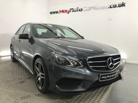 2015 MERCEDES-BENZ E CLASS 2.1 E220 BLUETEC AMG NIGHT EDITION 4d AUTO 174 BHP £17750.00