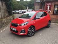 USED 2015 65 PEUGEOT 108 1.2 PURETECH ALLURE 3d 82 BHP Peugeot 108 allure, 1 owner locally owned, Rear Camera, iPod, Tinted Windows, Cruise and Keyless entry,