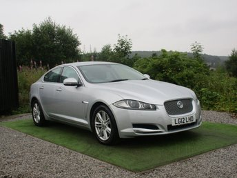 2012 JAGUAR XF 2.2 D LUXURY 4d AUTO 190 BHP £9390.00