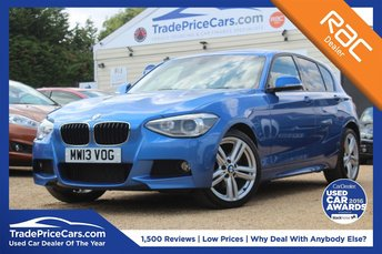 2013 BMW 1 SERIES 2.0 120D XDRIVE M SPORT 5d 181 BHP £11750.00