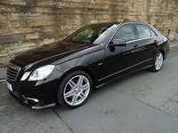 2010 MERCEDES-BENZ E CLASS 2.1 E200 CDI BLUEEFFICIENCY SPORT 4d AUTO 136 BHP £8400.00