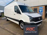 USED 2015 15 VOLKSWAGEN CRAFTER 2.0 CR35 TDI H/R P/V 1d 107 BHP AMAZING WORKHORSE TO EARN YOUR COMPANY MONEY
