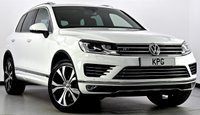 USED 2015 15 VOLKSWAGEN TOUAREG 3.0 TDI V6 BlueMotion Tech R-Line Tiptronic 4x4 (s/s) 5dr Auto Pan Roof, Power Boot, Sat Nav