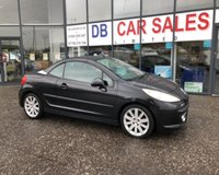 USED 2007 57 PEUGEOT 207 1.6 GT COUPE CABRIOLET 2d 118 BHP NO DEPOSIT AVAILABLE, DRIVE AWAY TODAY!!