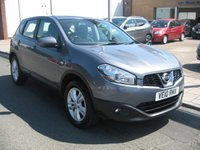 USED 2010 10 NISSAN QASHQAI 1.5 ACENTA DCI 5d 105 BHP Only two owners, Air conditioning, parking sensors, power folding mirrors, Alloys, service history.
