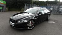 USED 2013 63 JAGUAR XJ 3.0 D V6 PORTFOLIO 4d AUTO 275 BHP COMFORT VENTILATED FRONT SEATS AND REAR SEATS