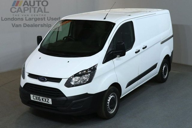 2016 16 FORD TRANSIT CUSTOM 2.2 290 LR P/V 5d 99 BHP SWB ECO-TECH FWD L1 DIESEL MANUAL PANEL VAN ONE OWNER FROM NEW SPARE KEY
