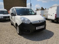 2015 VAUXHALL COMBO  2000 L1H1 1.3CDTI  90 BHP VAN with Side Load Door, £6450.00