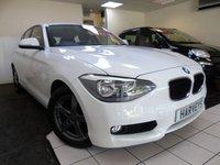 2011 BMW 1 SERIES 1.6 118I SE 5d 168 BHP £8250.00