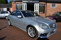 2010 MERCEDES-BENZ C CLASS 2.1 C220 CDI BLUEEFFICIENCY SPORT 4d AUTO 170 BHP £8195.00