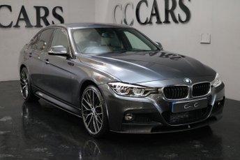 2017 BMW 3 SERIES 3.0 330D XDRIVE M SPORT 4d 255 BHP £24995.00