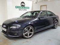 2012 AUDI A4 2.0 TDI Black Edition Multitronic 4dr £7694.00