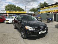 USED 2012 12 VOLVO XC60 2.4 D3 SE AWD 5 DOOR 161 BHP IN BLACK WITH 76000 MILES APPROVED CARS ARE PLEASED TO OFFER THIS  VOLVO XC60 2.4 D3 SE AWD 5 DOOR 161 BHP IN BLACK WITH 76000 MILES WITH A FULL VOLVO SERVICE HISTORY SERVICED AT 14K,21K,33K,54K,61K AND 74K WITH A GREAT SPEC INCLUDING BLUETOOTH,CLIMATE CONTROL,CRUISE CONTROL,REAR PARKING SENSORS,LEATHER INTERIOR AND MUCH MORE A GREAT 4X4(AWD) VOLVO WITH GREAT HISTORY.