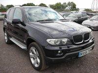 USED 2005 55 BMW X5 3.0 D SPORT 5d AUTO 215 BHP 1 Previous owner - Sat nav - Parking sensors