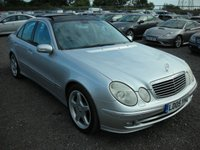 USED 2005 05 MERCEDES-BENZ E CLASS 3.5 E350 AVANTGARDE 4d AUTO 272 BHP Top spec - Sat nav - Pan roof - Leather