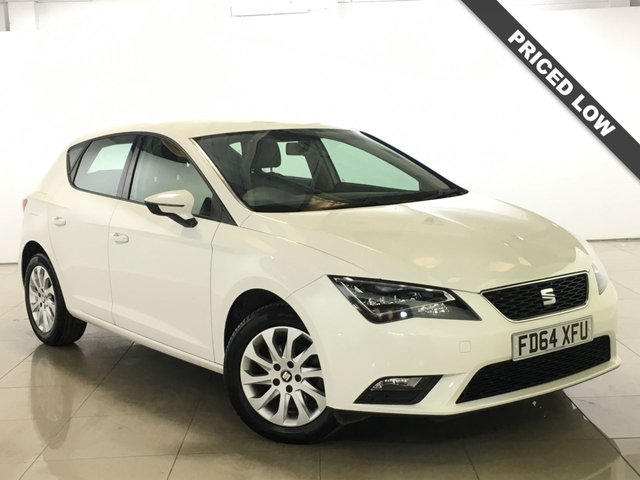 View our 2014 64 SEAT LEON 1.6 TDI SE TECHNOLOGY NAV 5d 105 BHP