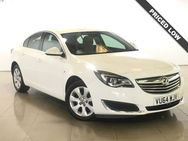 View our 2014 64 VAUXHALL INSIGNIA 2.0 TECH LINE CDTI 5d AUTO 160 BHP