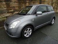 2006 SUZUKI SWIFT 1.5 GLX VVTS 3d 101 BHP £1750.00