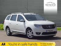 USED 2014 14 DACIA LOGAN MCV 0.9 LAUREATE TCE 5d 90 BHP VERY LOW MILES, ONE OWNER, A/C