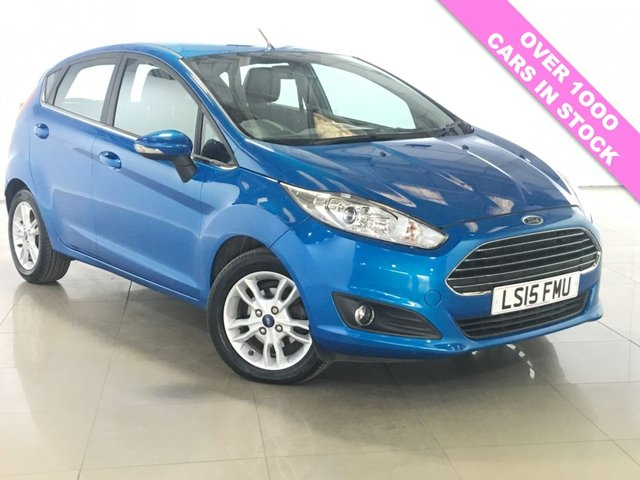 View our 2015 15 FORD FIESTA 1.5 ZETEC TDCI 5d 74 BHP