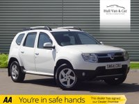 USED 2014 64 DACIA DUSTER 1.5 LAUREATE DCI 4WD 5d 109 BHP 4X4, AIR CON, BLUETOOTH,ALLOYS