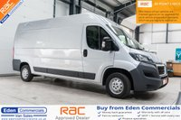 2016 PEUGEOT BOXER 2.0 BLUE HDI 335 L3H2 PROFESSIONAL P/V 130 BHP *FINISHED IN SILVER* £12995.00