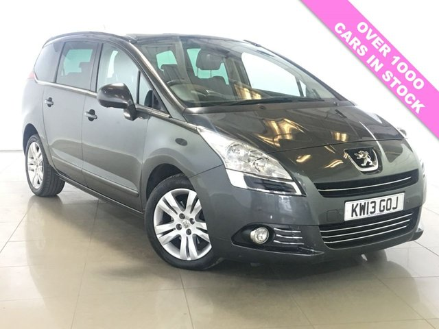 View our 2013 13 PEUGEOT 5008 2.0 HDI ALLURE 5d AUTO 163 BHP