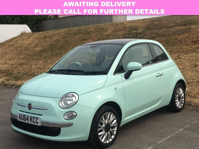 View our 2014 64 FIAT 500 1.2 LOUNGE 3d 69 BHP