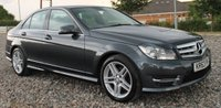 2013 MERCEDES-BENZ C CLASS 2.1 C220 CDI BLUEEFFICIENCY AMG SPORT 4d AUTO 168 BHP £11995.00