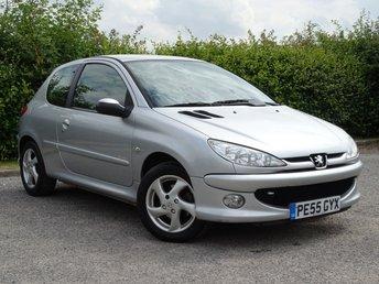 2005 PEUGEOT 206 1.6 SPORT S 3d £1555.00