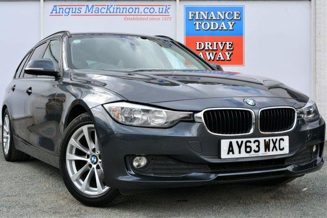 2013 63 BMW 3 SERIES 2.0 320D SE TOURING 5d Estate AUTO with Sat Nav
