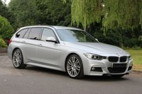 USED 2014 63 BMW 3 SERIES 2.0 328I M SPORT TOURING 5d AUTO 242 BHP