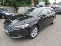 2015 FORD MONDEO 2.0 TITANIUM TDCI 5d AUTO 148 BHP £14750.00