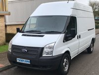 2013 FORD TRANSIT 2.2 FWD 350 LWB HIGH ROOF 125 BHP 6 SPEED