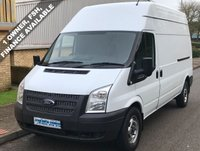 2013 FORD TRANSIT 2.2 FWD 350 LWB HIGH ROOF 125 BHP 6 SPEED £5995.00
